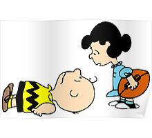 Charlie Brown & Lucy Poster