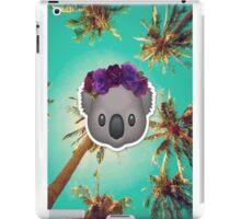 Koala in a Flower Crown Emoji Design iPad Case/Skin