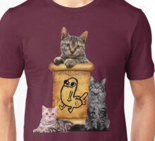 Dickbutt and catz Unisex T-Shirt
