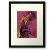 THE SADNESS OF THE PHARAOH Framed Print