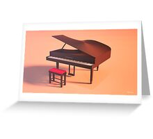 Piano Lowpoly Greeting Card