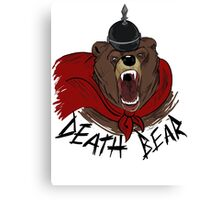 Death Bear Canvas Print