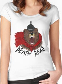 Death Bear Women's Fitted Scoop T-Shirt