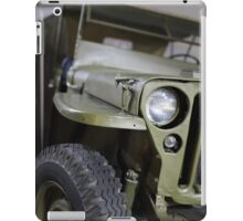 military jeep iPad Case/Skin