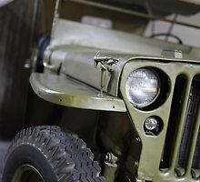 military jeep by mrivserg