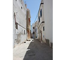 tunisia street of the old Photographic Print