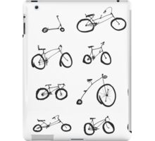 Lots of bikes! iPad Case/Skin