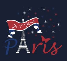 Paris Je T'Aime Kids Tee