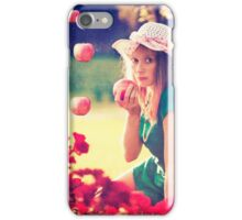 Apples rain iPhone Case/Skin