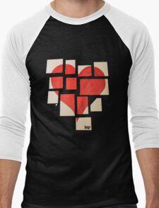 Della's Heart Men's Baseball ¾ T-Shirt