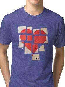 Della's Heart Tri-blend T-Shirt