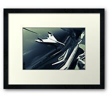 1955 Chevy BelAir in Black and White Framed Print