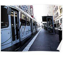 Tram watching Poster