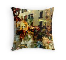The Mask Shop Throw Pillow