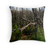 untitled #112 [wilson's promontory] Throw Pillow
