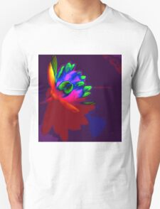 Water lily abstract pop art T-Shirt
