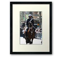Mounted Police Framed Print