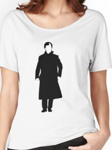 Sherlock Holmes Silhouette Women's Relaxed Fit T-Shirt