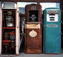 Gas Pumps by Simon Hughes