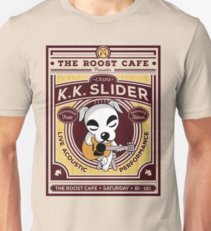 K.K. Slider Gig Poster Unisex T-Shirt