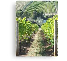 RED HILL 2 Canvas Print