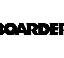 Boarder (Black) by theshirtshops