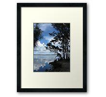 Mungo Brush, Myall Lakes, NSW, Australia Framed Print