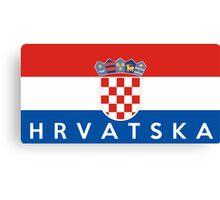 Hrvatska Canvas Print