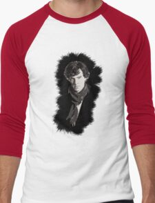 Sherlock Men's Baseball ¾ T-Shirt