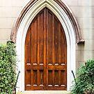 Arched Doorway in Church by dbvirago