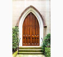Arched Doorway in Church Unisex T-Shirt