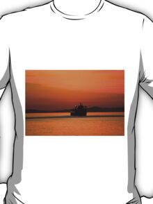 Diving in the sunset T-Shirt