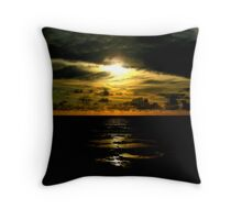 Not Your Typical Sunset.... Low Key Throw Pillow