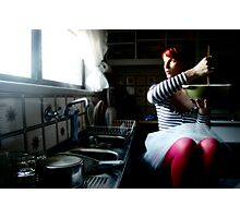 domestic goddess Photographic Print