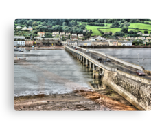 Shaldon Bridge Canvas Print