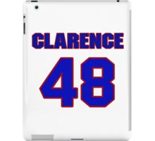 National football player Clarence Childs jersey 48 iPad Case/Skin