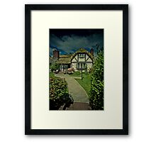Welcome to Hobbiton Framed Print