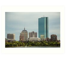 Downtown Boston Art Print
