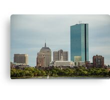 Downtown Boston Canvas Print