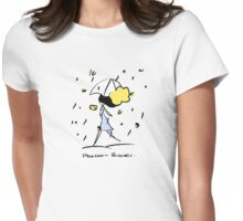 Popcorn Shower Womens Fitted T-Shirt