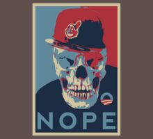 """Rage Skull Portrait inspired by the Barack Obama """"Hope"""" poster designed by Shepard Fairey. One Piece - Short Sleeve"""