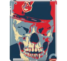 "Rage Skull Portrait inspired by the Barack Obama ""Hope"" poster designed by Shepard Fairey. iPad Case/Skin"
