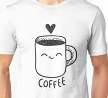 "Coffee (one of the paired t-shirts - look at ""Cream"" design:) Unisex T-Shirt"