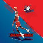 Michael Jordan Basketball by Antonio  Luppino