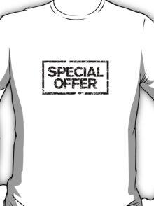 Special Offer (Black) T-Shirt
