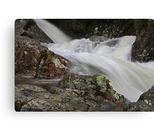 Water Sculpture at Stickle Ghyll,Great Langdale Canvas Print