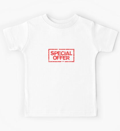 Special Offer (Red) Kids Tee