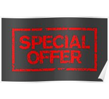 Special Offer (Red) Poster