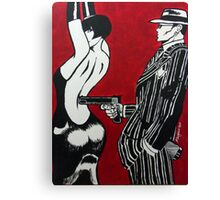 The Gangsters Moll Canvas Print