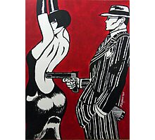 The Gangsters Moll Photographic Print
